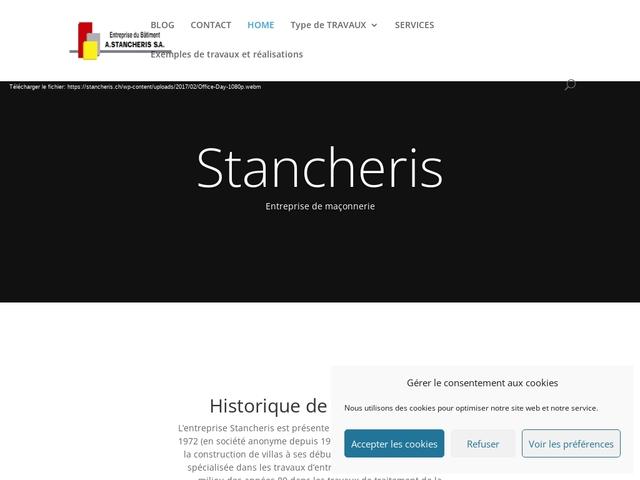 entreprise de bâtiment A. Stancheris S.A.