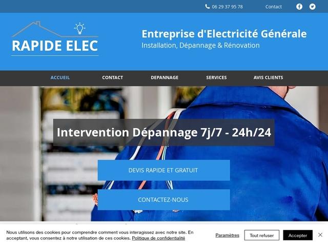 dépannage électricien nimes