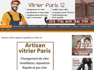 Spécialiste du dépannage vitrerie Paris 12