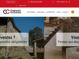 Diagnostic immobilier Les Angles