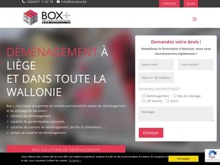 Garde-meuble et box de stockage à Liège