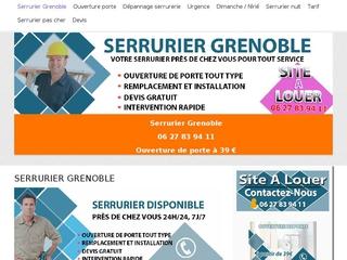 Artisan serrurier professionnel Grenoble
