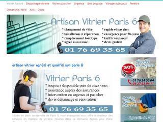 Artisan vitrier Paris 6 - Rapide et efficace