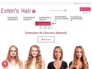 Extensions de cheveux en ligne livrées chez vous