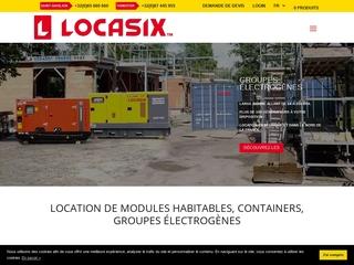 Location de modules, containers et générateurs