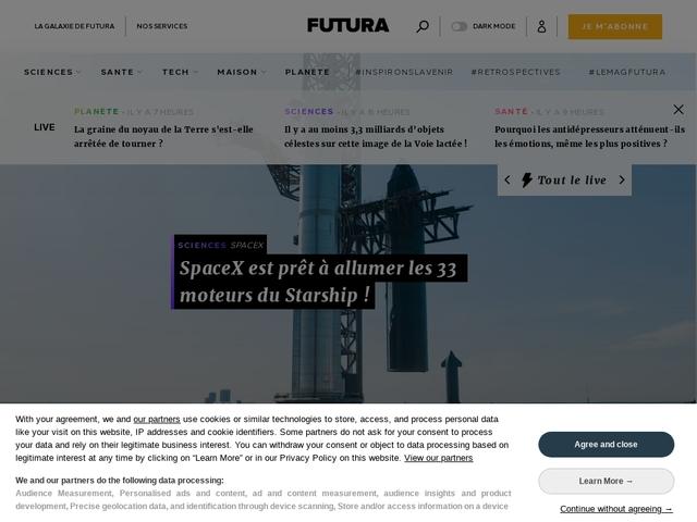Futura-Sciences | Le savoir s'invite chez vous