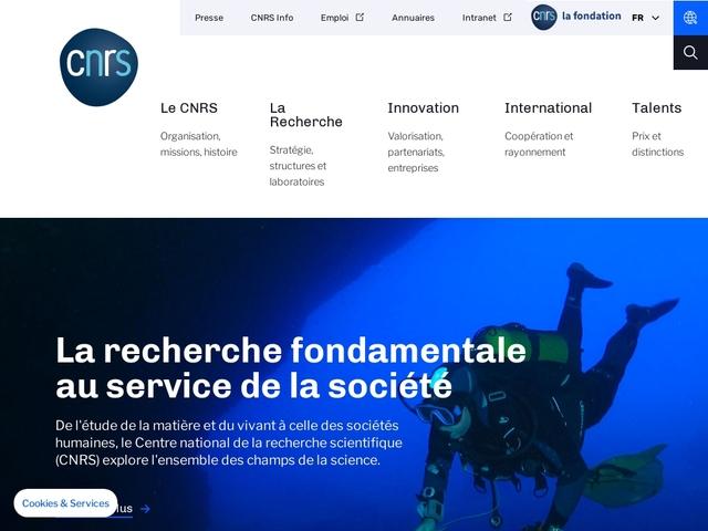 Centre national de la recherche scientifique | Bienvenue