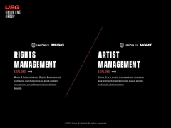 A music rights, brand consultation and project Management Company