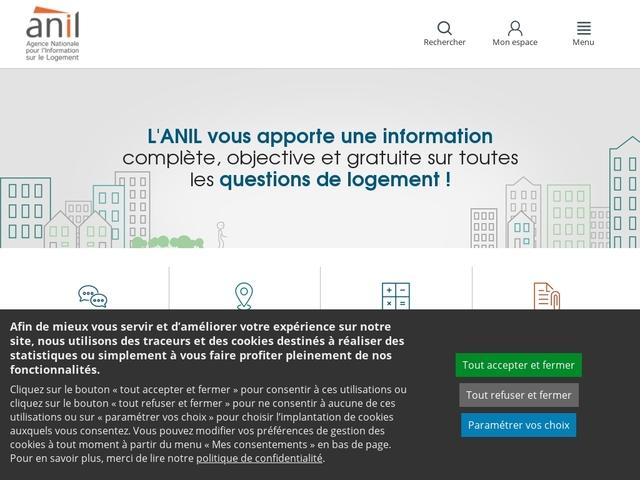 Anil.org : agence nationale pour l'information sur le logement - ANIL