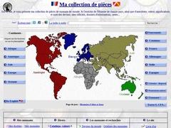 La collection de pièces de monnaie du monde Adrien 68