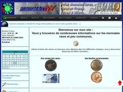 Numismativy : actualités des Monnaies Rares Euros pièces et billets.