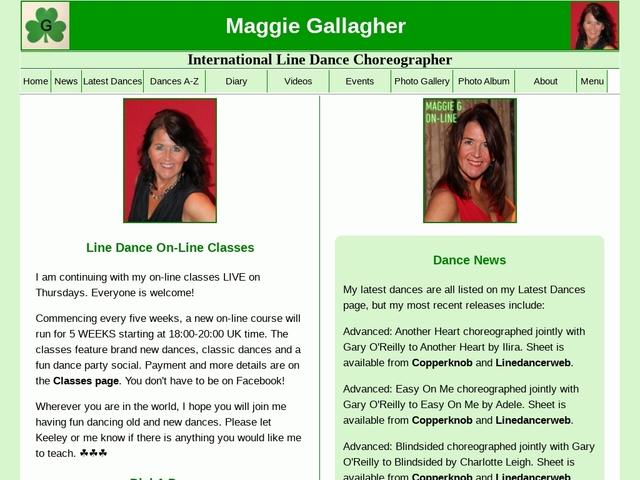 Maggie Gallagher | International Line Dance Choreographer / Instructor