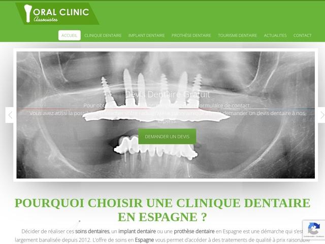 Tourisme dentaire en Espagne: Implants dentaire à -50%