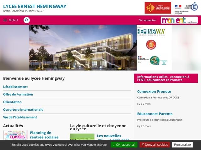 Lycée Ernst Hemingway (Nîmes)