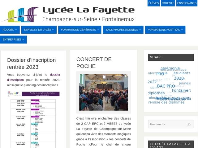 Lycée La Fayette (Champagne sur Seine)