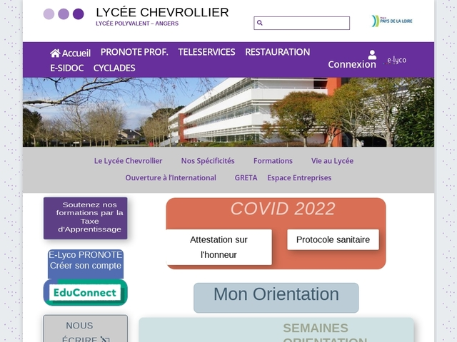 Lycée Chevrollier (Angers)