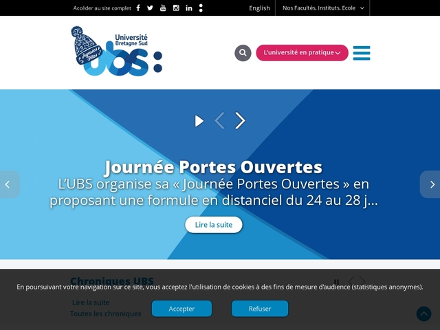 Université de Bretagne Sud - site de Vannes