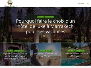 Locations de vacances et voitures Maroc