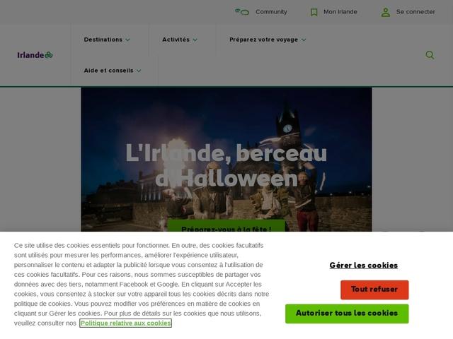 Irlande Tourisme.fr