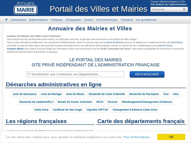 Mairies.fr