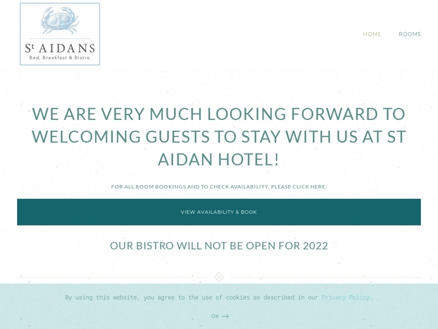 St Aidan Hotel - Seahouses - Northumberland