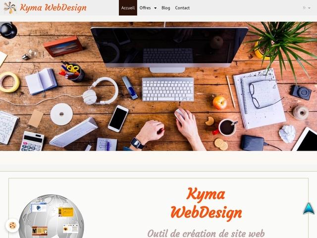 Faire un site avec Kyma Web