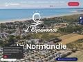 Camping l'Espérance Denneville plage Manche Normandie | Camping Espérance