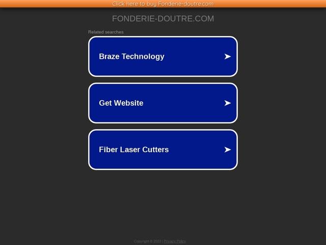 Fonderie Doutre  Sarl - (49) - Fonderie d'Art - Fonderie Cuivreux -
