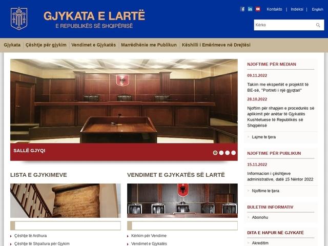 Gjykata e Lartë