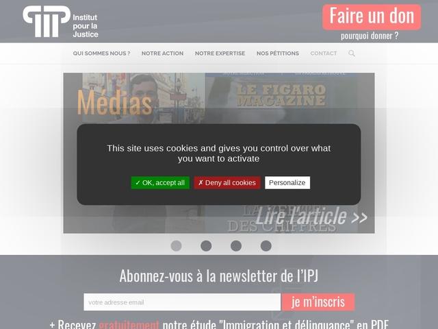 Institut Pour La Justice (IPJ) - Citoyens pour l'équité