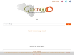 Gwenood - Moteur de recherche breton