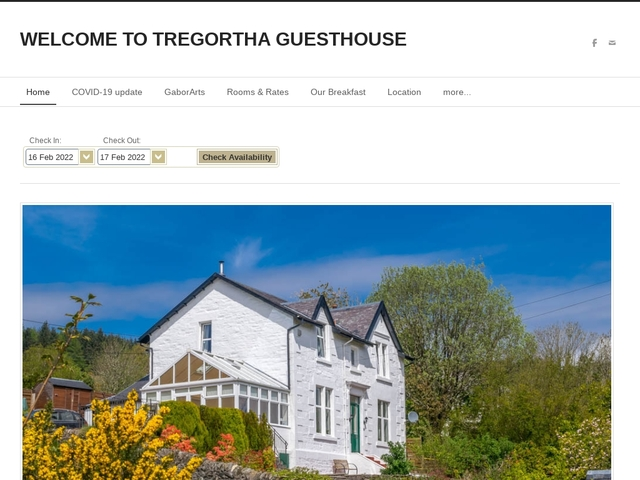 Tregortha Guest House - 01700  811132