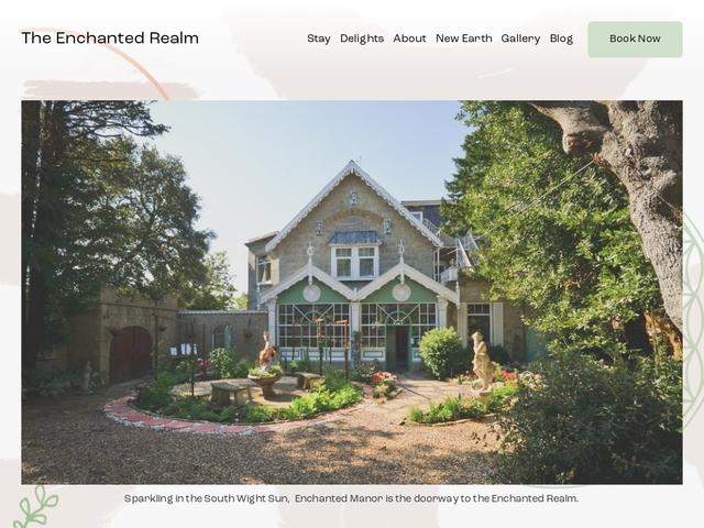 The Enchanted Manor-Isle of Wight-PO38 2NG-01983730215