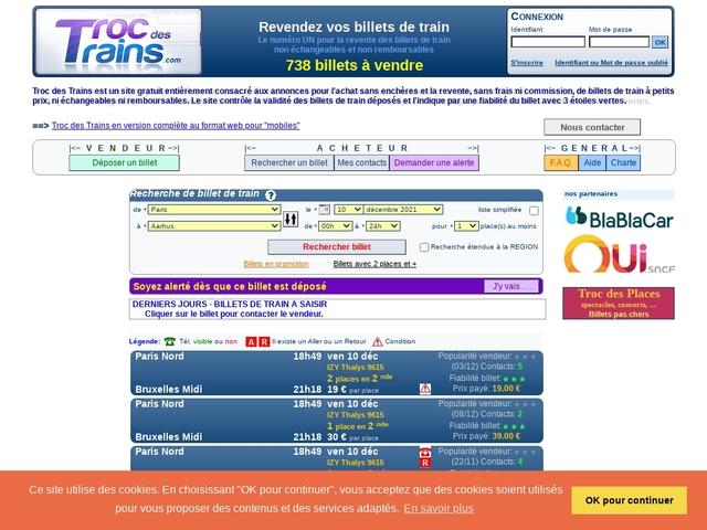 TrocdesTrains.com
