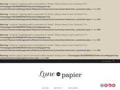 Lune de Papier