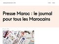 Presse maroc