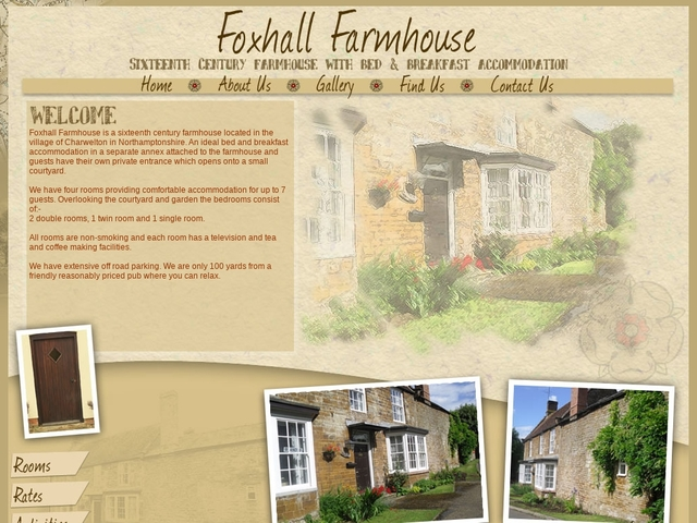 Foxhall Farmhouse - Daventry - Northamptonshire - 01327 261817