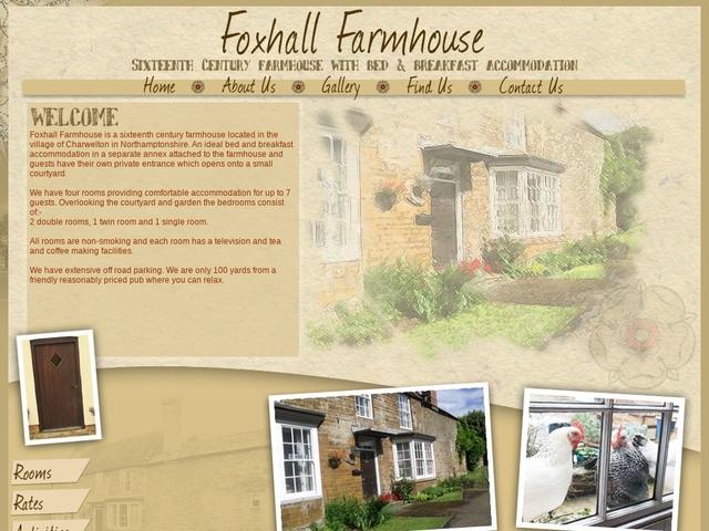 Foxhall Farmhouse - Daventry - Northamptonshire - 01327 261817