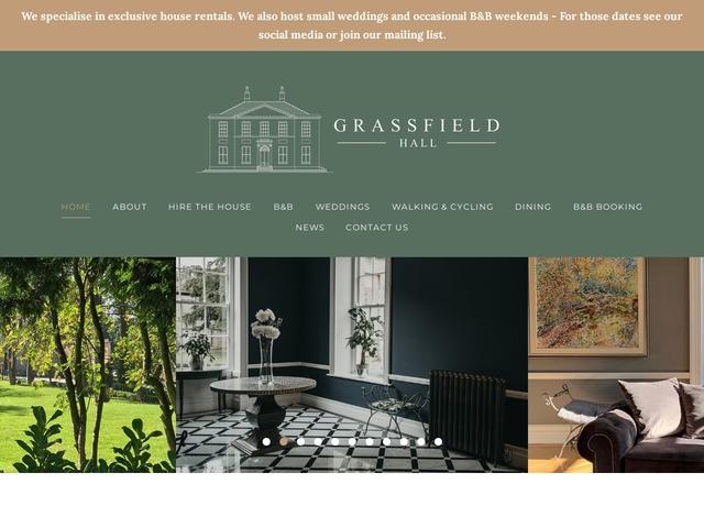 Grassfield Hall - Harrogate - England.