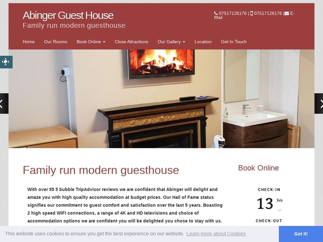 Abinger Guest House - Leicester - Leicestershire - England.