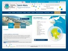 Saint Malo Agglomération - Accueil