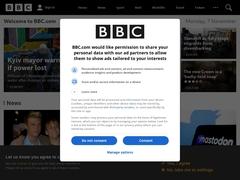 BBC news radio and TV