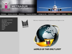 Métrasur sas - (46) - Traitement Surface - Projec Thermique - Usinage.