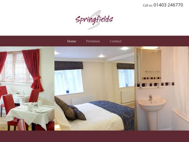 Springfields Hotel - Horsham - Crawley - West Sussex - England.