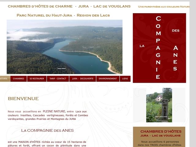 La Compagnie des Anes Chambre d'hôtes et gîte Jura Franche-Comté