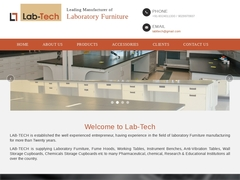 Leading Manufacturer of Laboratory Furniture.