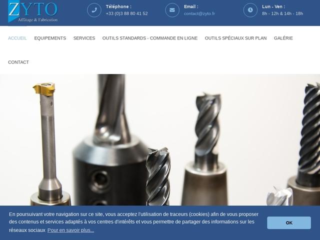 Zyto Sarl - (67) - Concept-Fabrication-Répar-Affût Outils