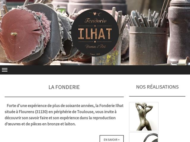 Fonderie Ilhat Sarl - (31) - Fonderie d'Art Bronze.