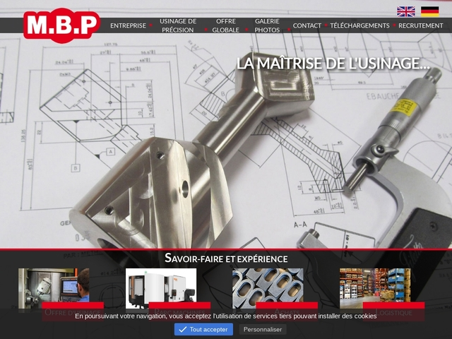 M.B.P sas - (25)# - Mécanique de Précis - Usinage C.N.C.