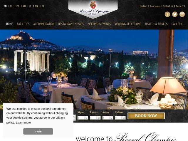 Royal Olympic Hôtel  - Grand Luxe ***** - Makrygianni/Athènes/Grèce
